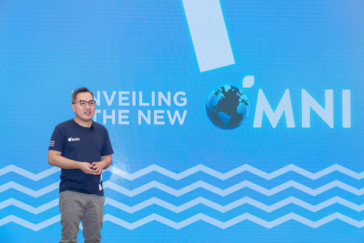 OmniMeat Founder David Yeung at OmniSeafood Launch Event