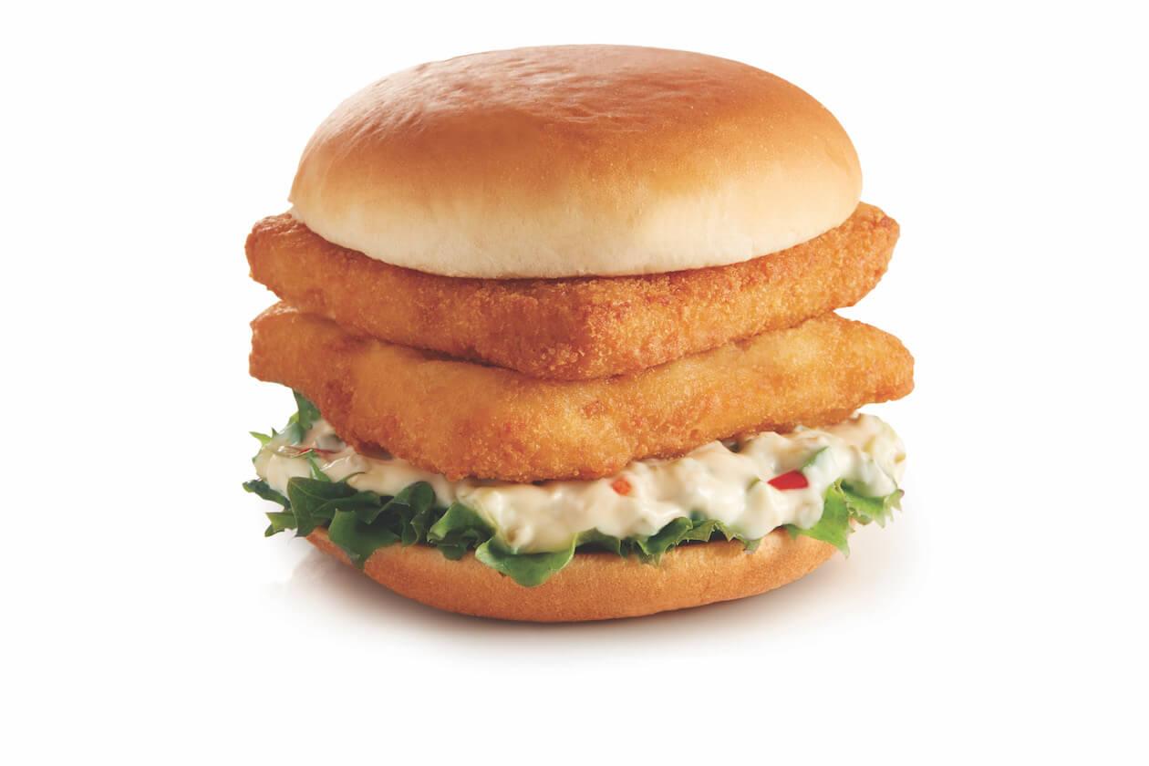 Omni Ocean Burger, a vegan alternative for the famous fish fillet burger