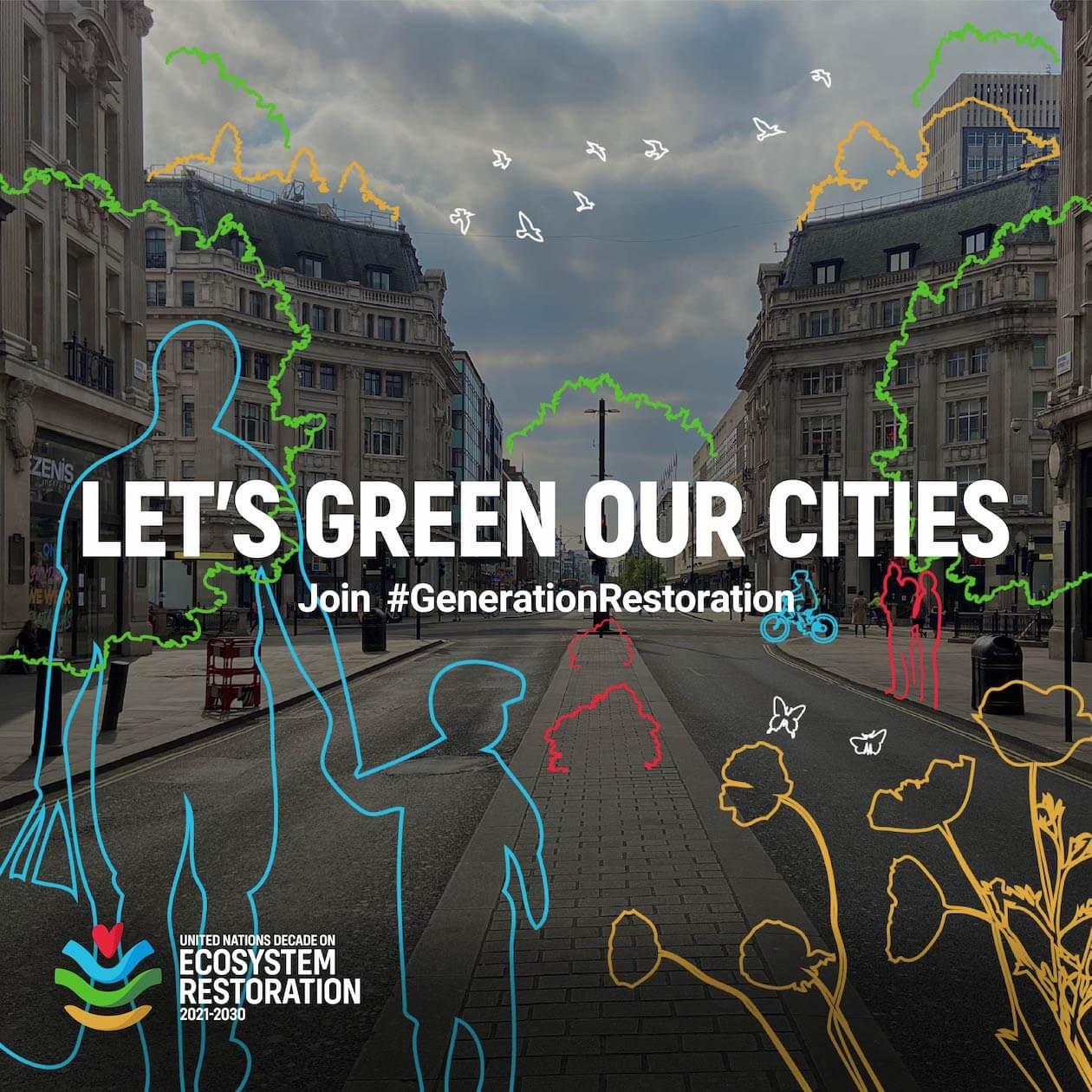 UN Decade of Ecosystem Restoration Visual