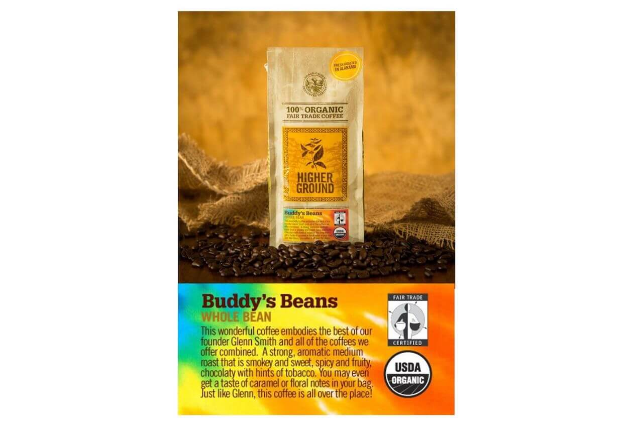 Higher Ground Roaster's coffee