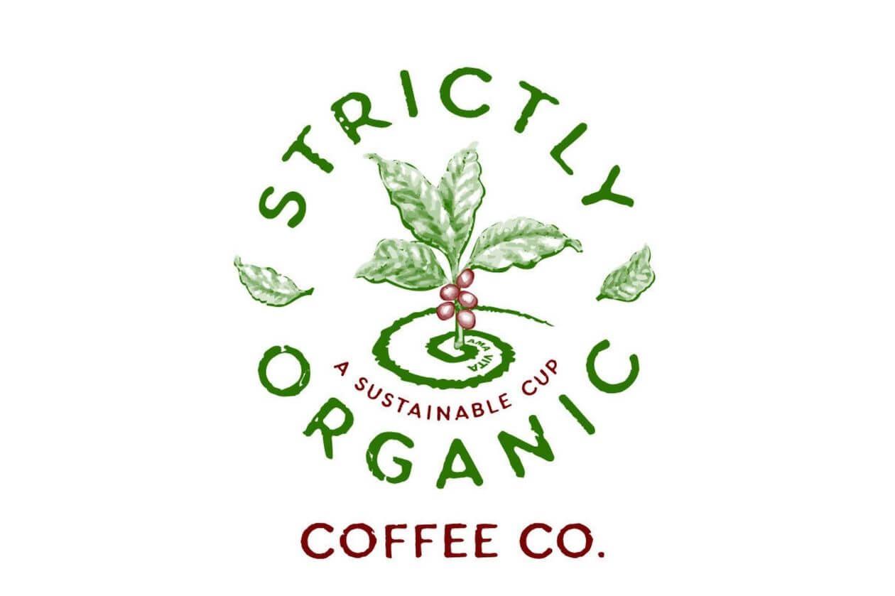 Strictly Organic Coffee Co. Logo