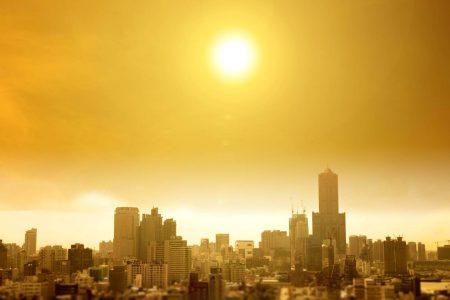 Heat waves city