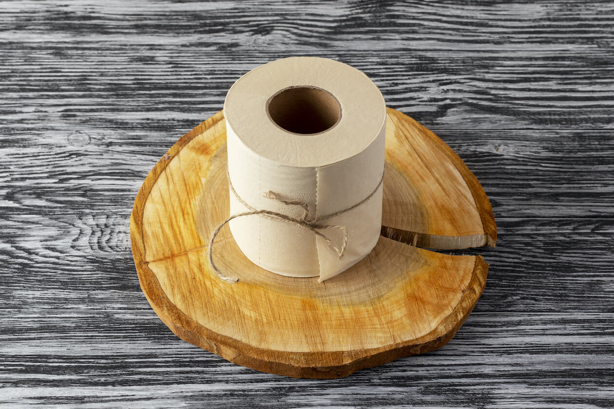 Bamboo made Toilet Paper