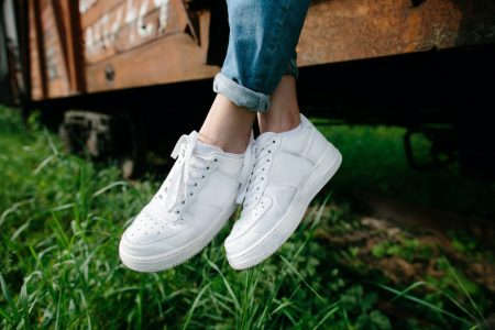 Ethical sneakers are nice and comfy