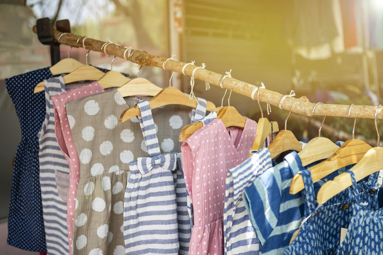 Fair trade brands for children's clothing is a great option