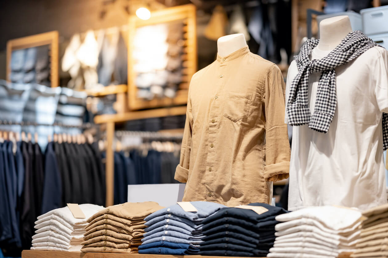 Fair trade brands for men includes Kotn and more