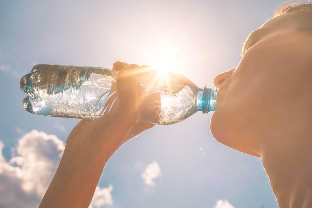 heat waves human drinking water