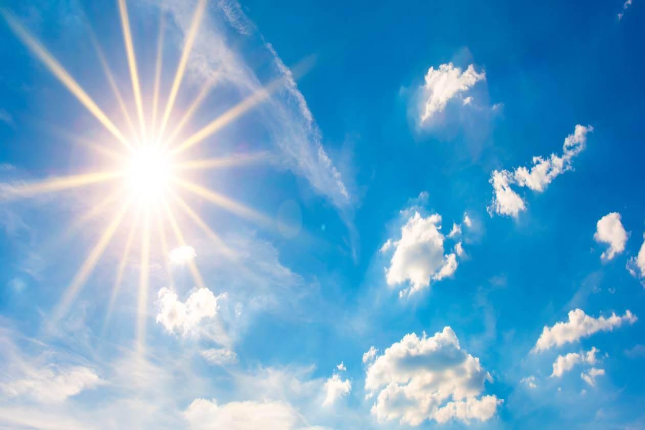 Sunny heat waves
