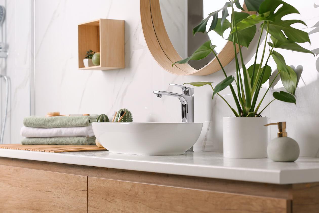 zero-waste bathroom sink