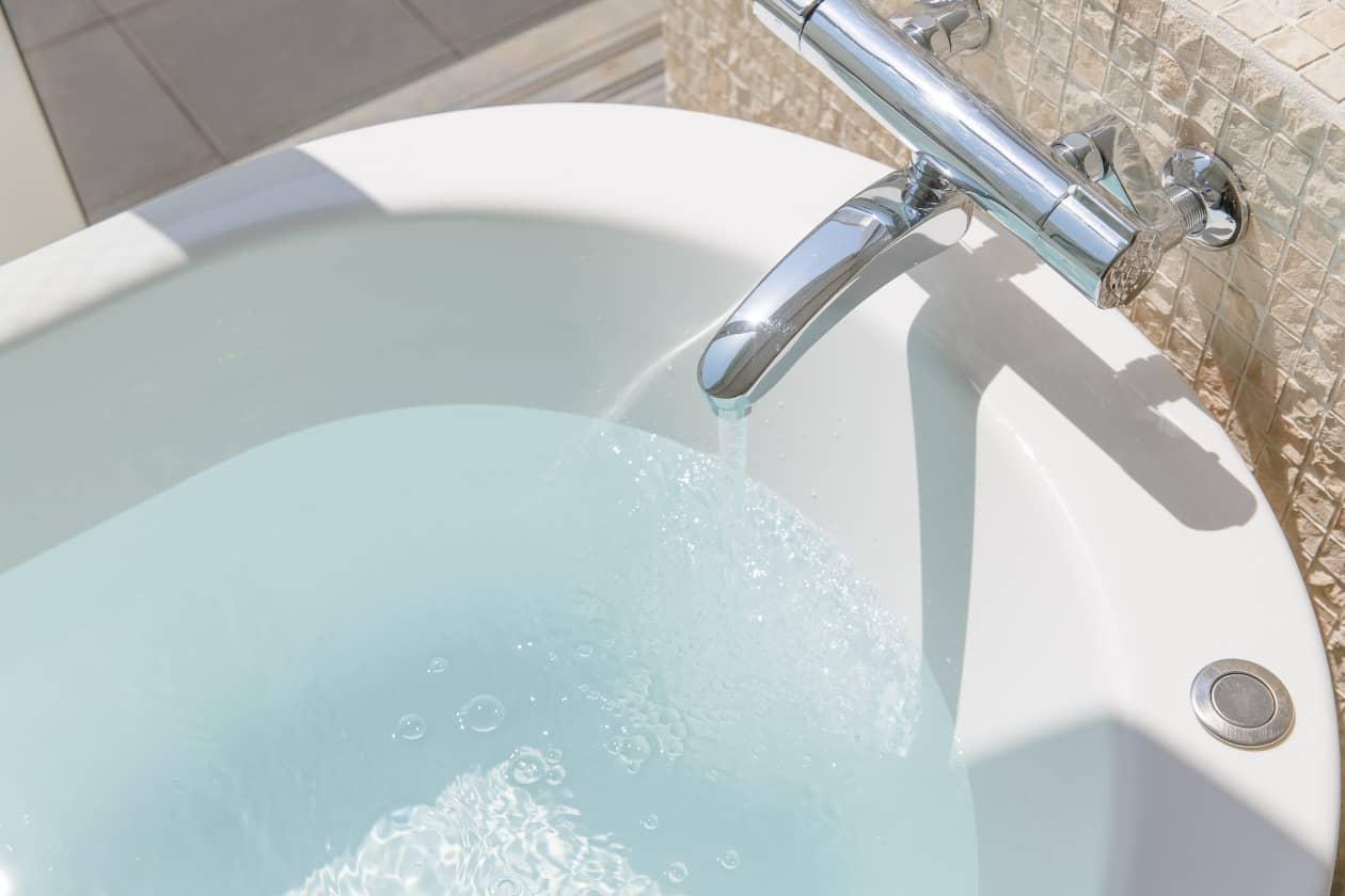 お風呂の残り水