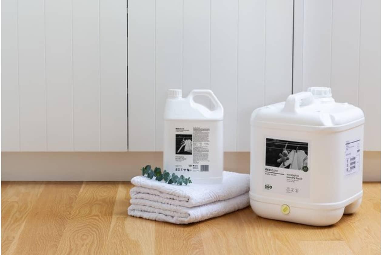地球にやさしい洗濯用洗剤、エコストア