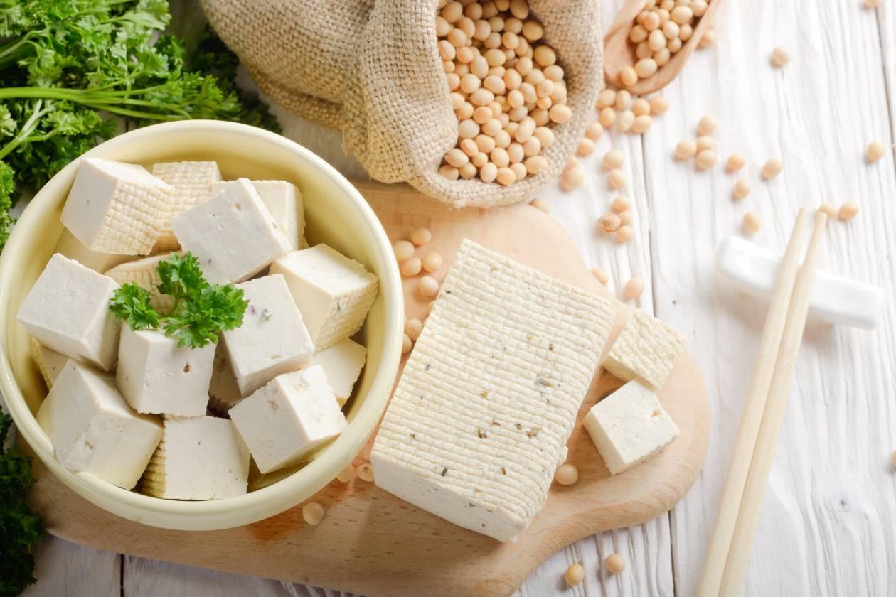 vegan food tofu