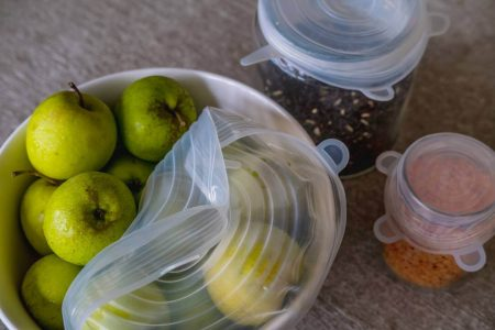 silicone wrap food wrap non plastic