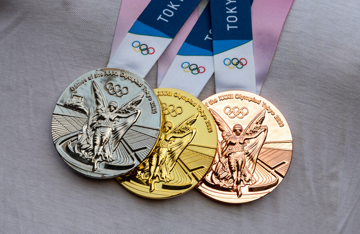 Tokyo Olympic Metals