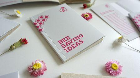 Bee Saving Paper's product Bee Saving notebook