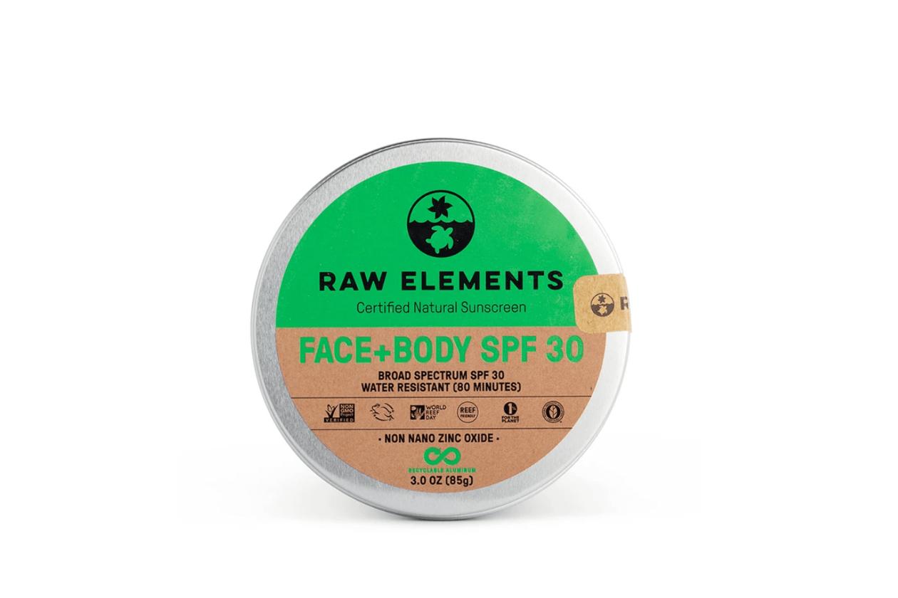 Raw Element Zero waste Skincare Body + Face SPF 30