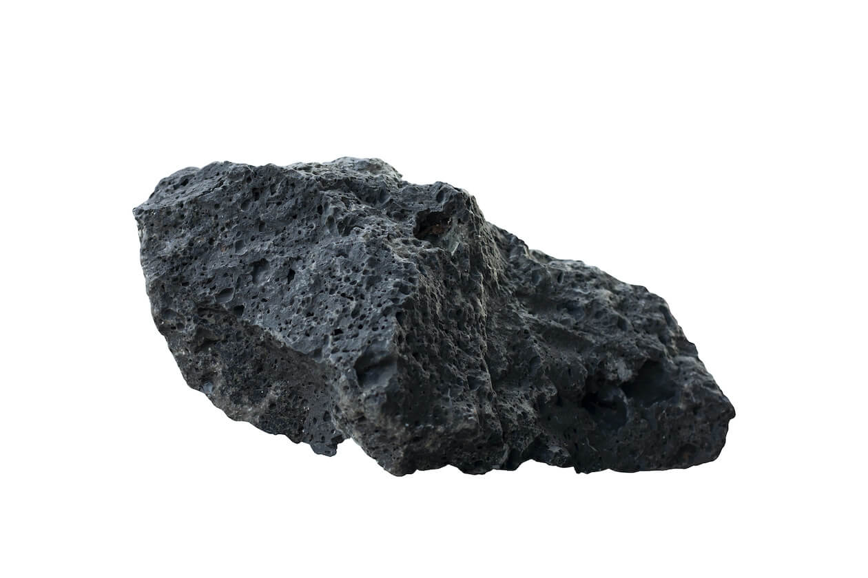 Basalt rocks that are crucial to Orca's Carbon Capture and Storage