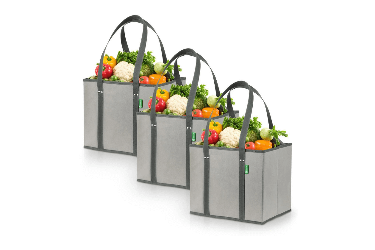 Sturdy Reusable grocery bags
