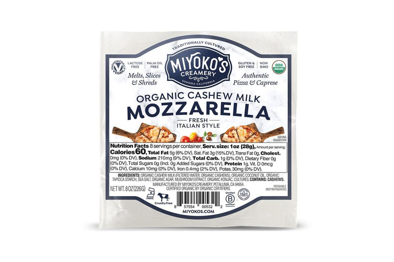 Vegan food companies: Dairy - Miyoko's Creamery