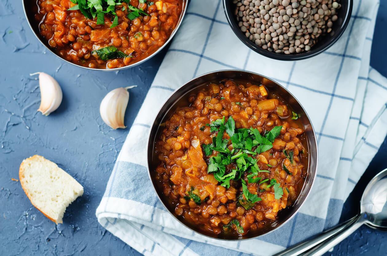 Meat-free Vegan Vegetable Stew