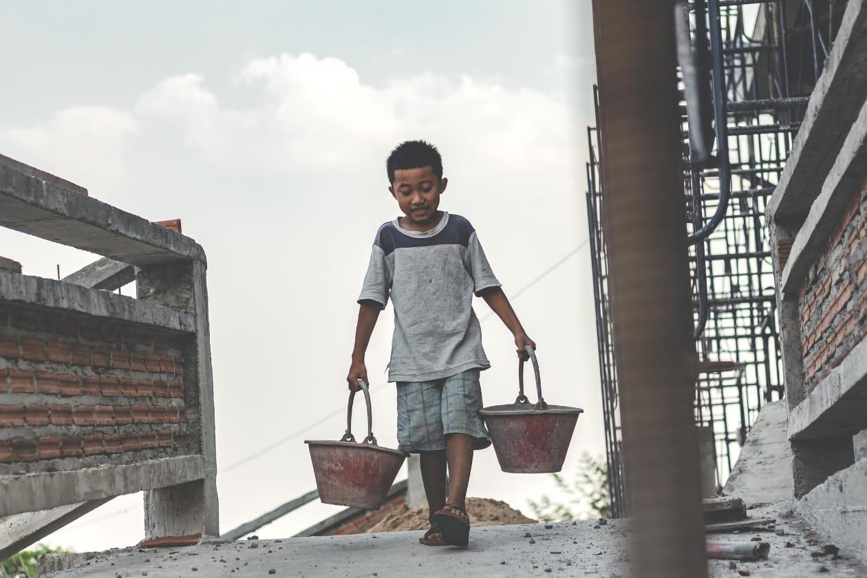 児童労働のイメージ